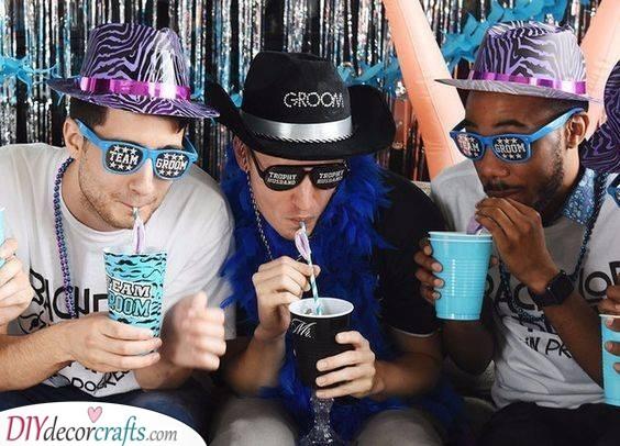 Team Groom - Bachelor Party Ideas