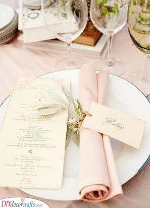 Whimsical Wrap - Wedding Decor Ideas