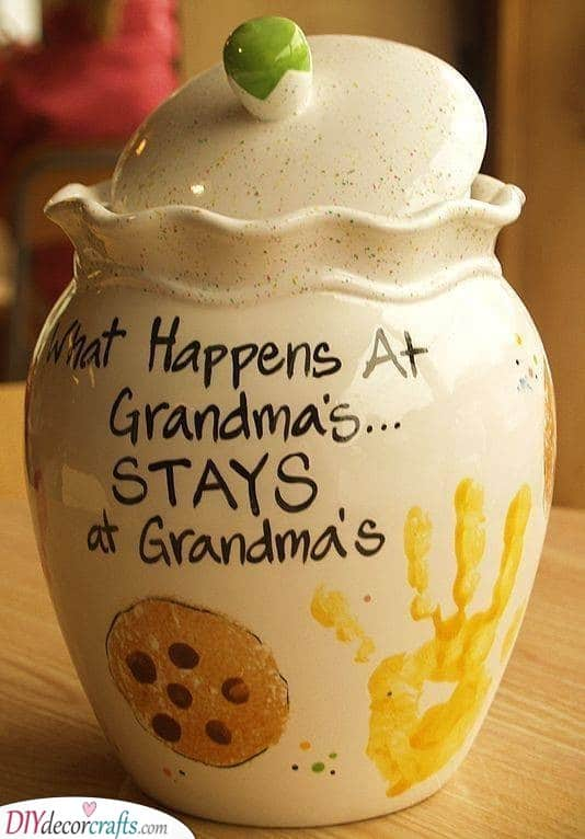 Cookie Jar - A Funny Gift Idea