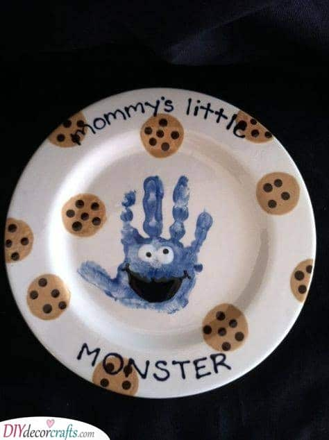 The Cookie Monster - Adorable Present Idea