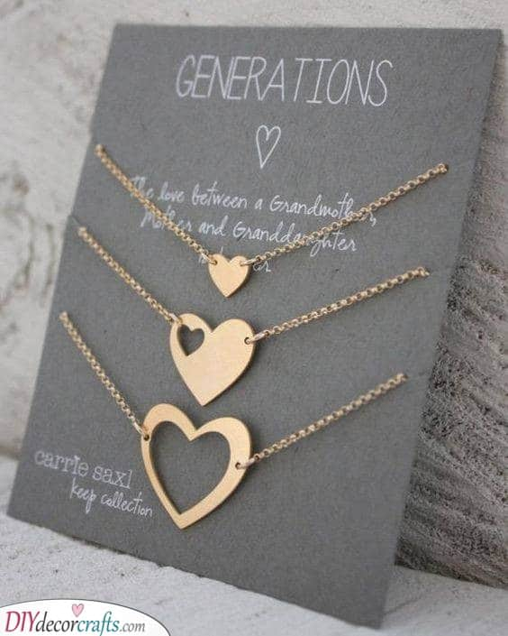 Beautiful Necklaces - Gifts for Grandparents