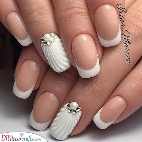 Seashell Effect - Fantastic Ideas for Your Nails