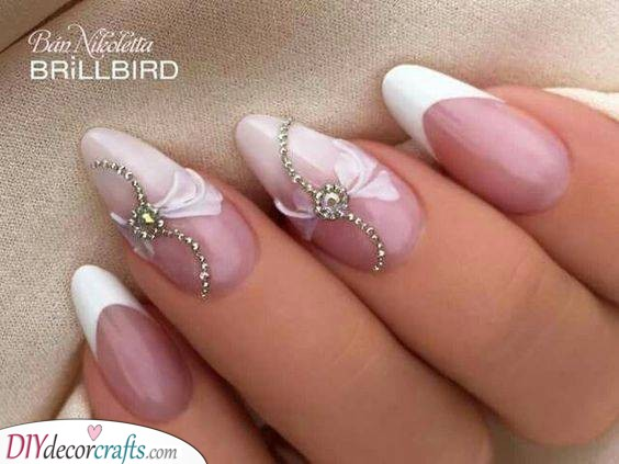 Adorable Design - Heavenly Nail Art for Your Wedding