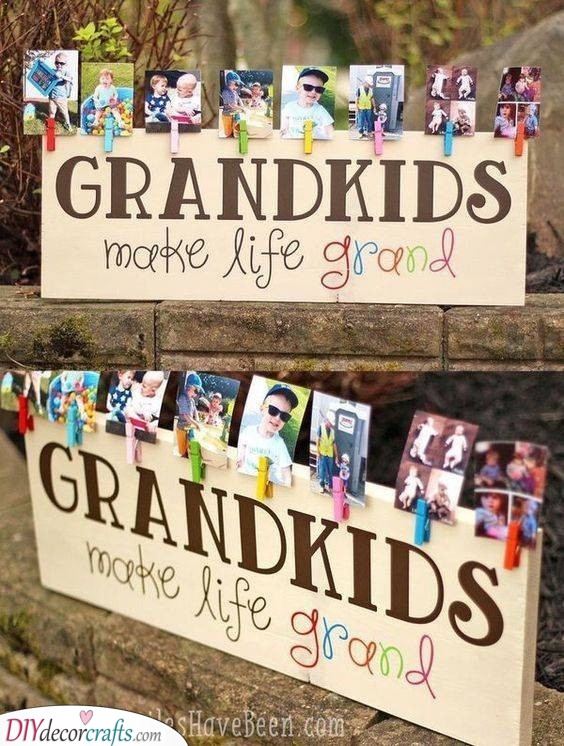 A Collection of Photos - Best Gifts for Grandma