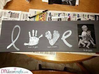 Foot and Handprints - A Beautiful Board