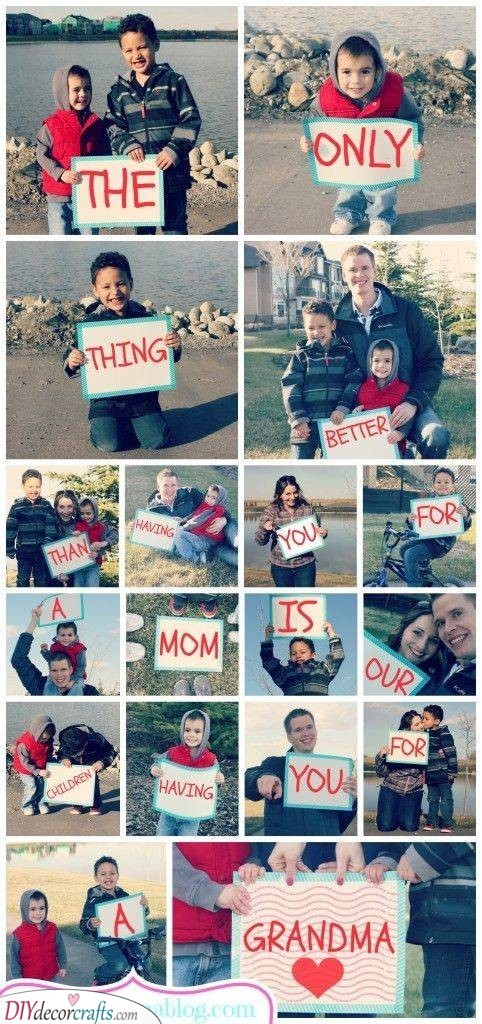 A Creative Photo Series - Put Together Pictures of the Family