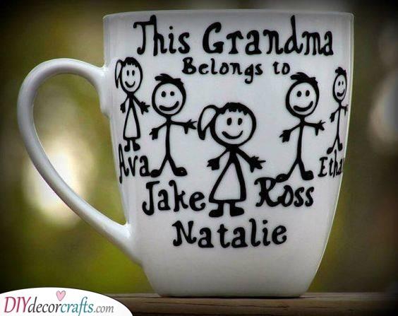 Lovely Mugs - Good Gifts for Grandma