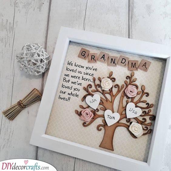 A Family Tree - Beautiful and Heartfelt