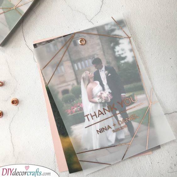 Divine Elegance - The Best Wedding Thank You Cards