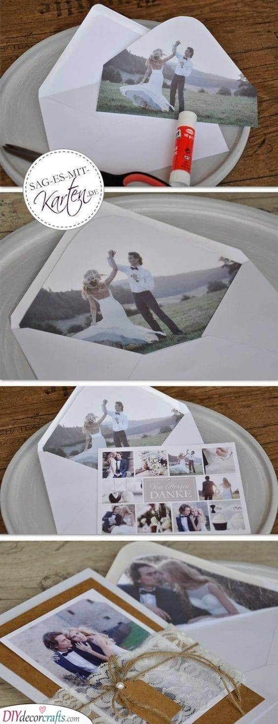 A Collection of Photos - Best Wedding Thank You Cards