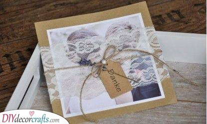A Bit of Lace - For Vintage or Rustic Weddings