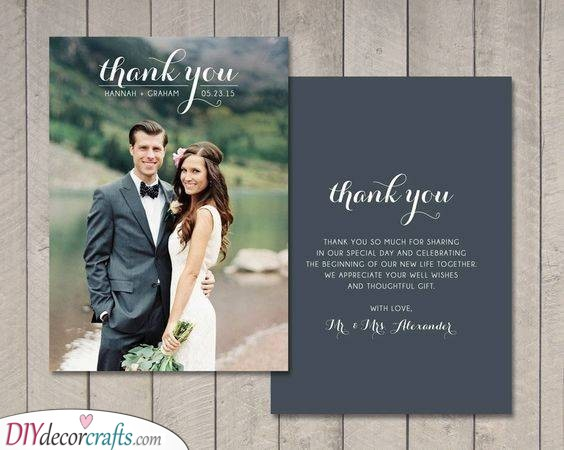Beautiful and Thoughtful - Saying Thanks to Your Wedding Guests