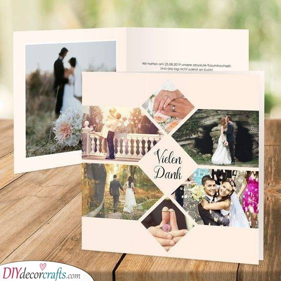 A Beautiful Collage - Ideas for Thank You Cards