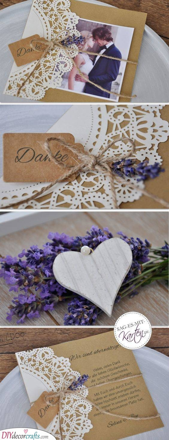 Rustic Essence - Personalised Wedding Thank You Cards