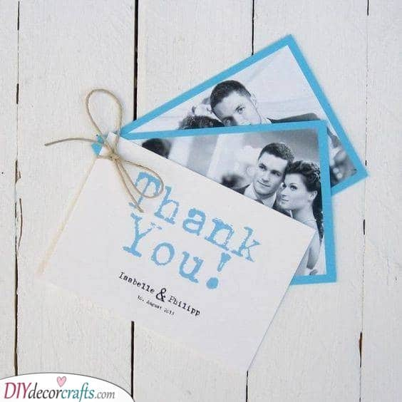 Bundle of Pictures - Awesome Photo Wedding Thank You Cards