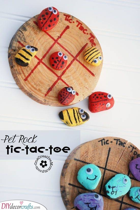 Animal Tic Tac Toe - Personalised Children's Gifts