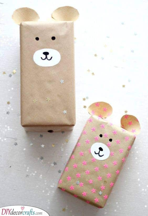 Animal Wrapping - Wrap Up Your Presents