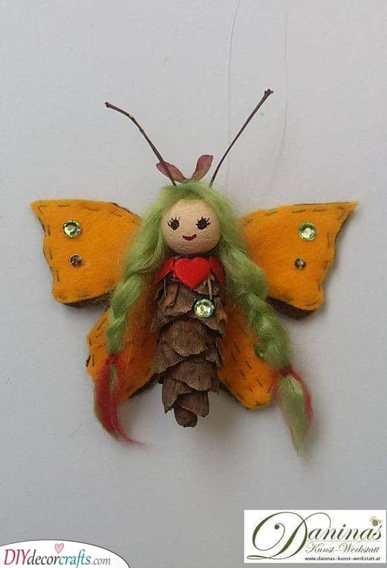 Pinecone Fairy - Cute Personalised Children's Gifts