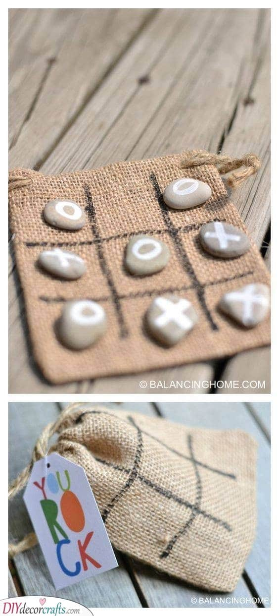 Tic Tac Toe - Easy DIY Gift