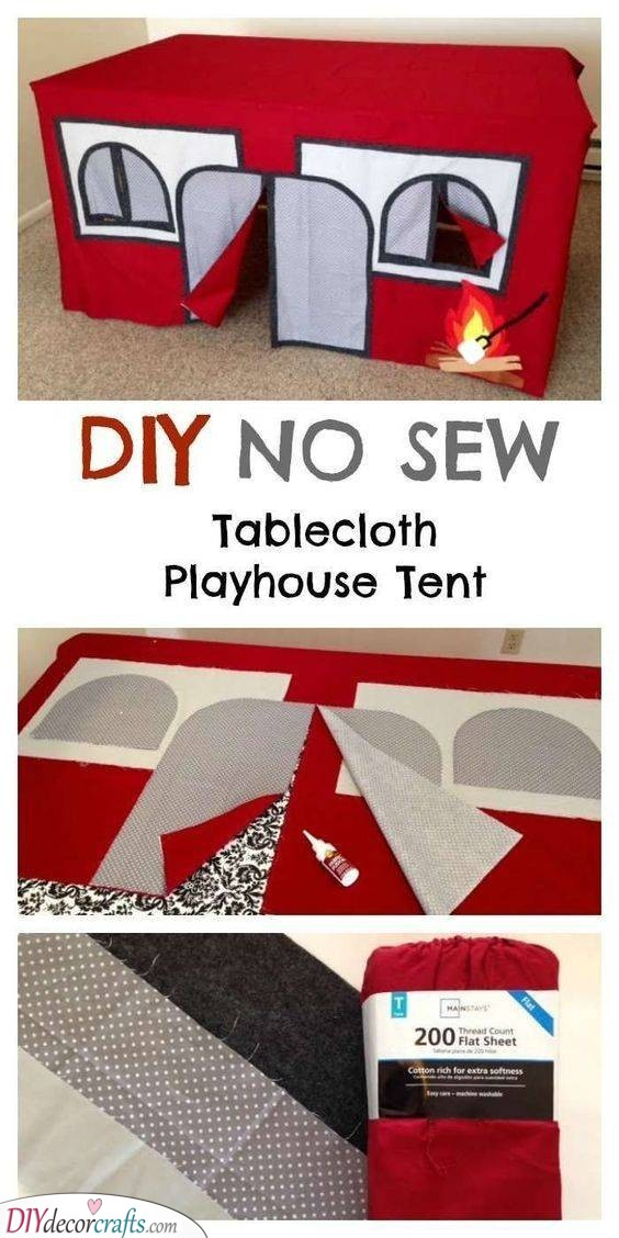 Playhouse Tent - The Best Indoor Cubby House