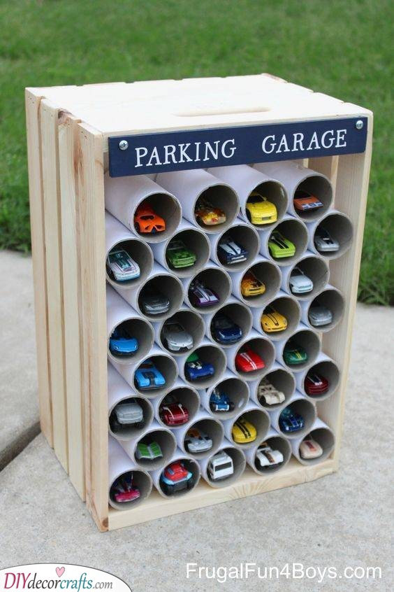 Garage for Cars - Personalized Gifts for Kids