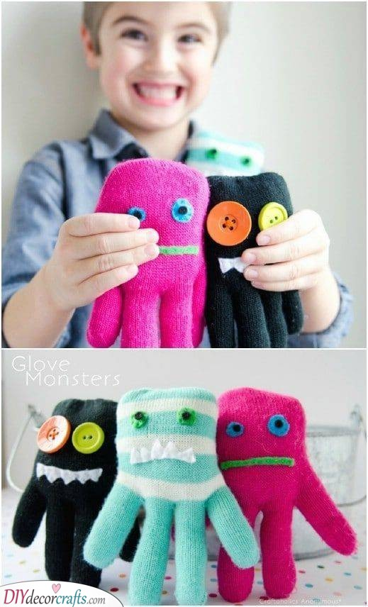 Glove Monsters - Cuddly and Cute Plushies