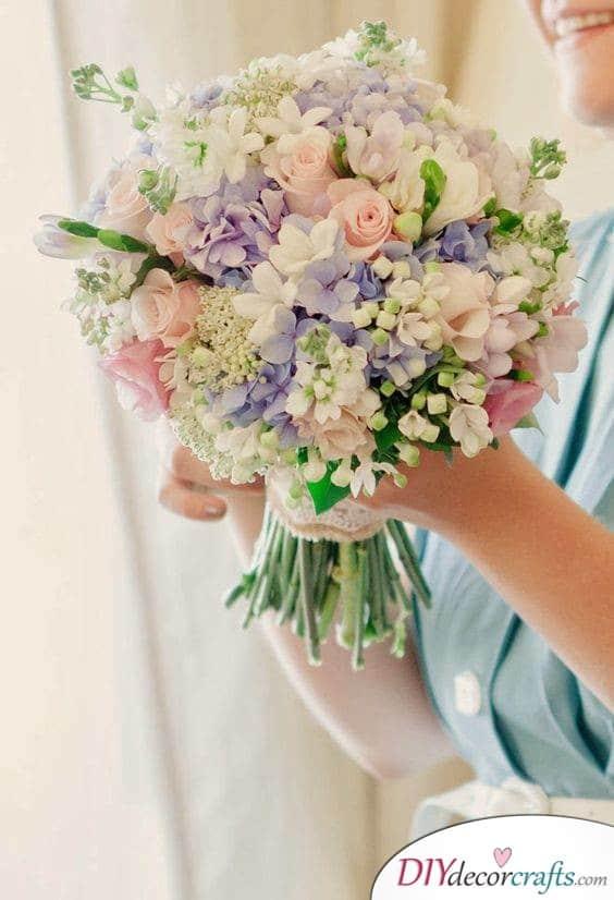 Pleasant in Pastel - Wedding Bouquets
