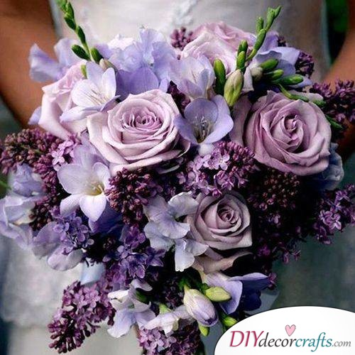 An Assortment of Purple - Enchanting Bouquets