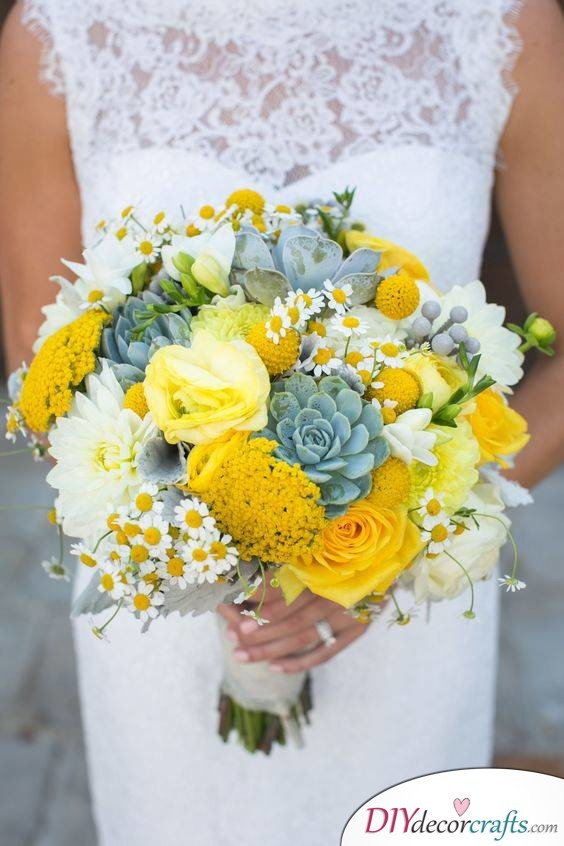 Lovely Yellows - Light Up Your Wedding