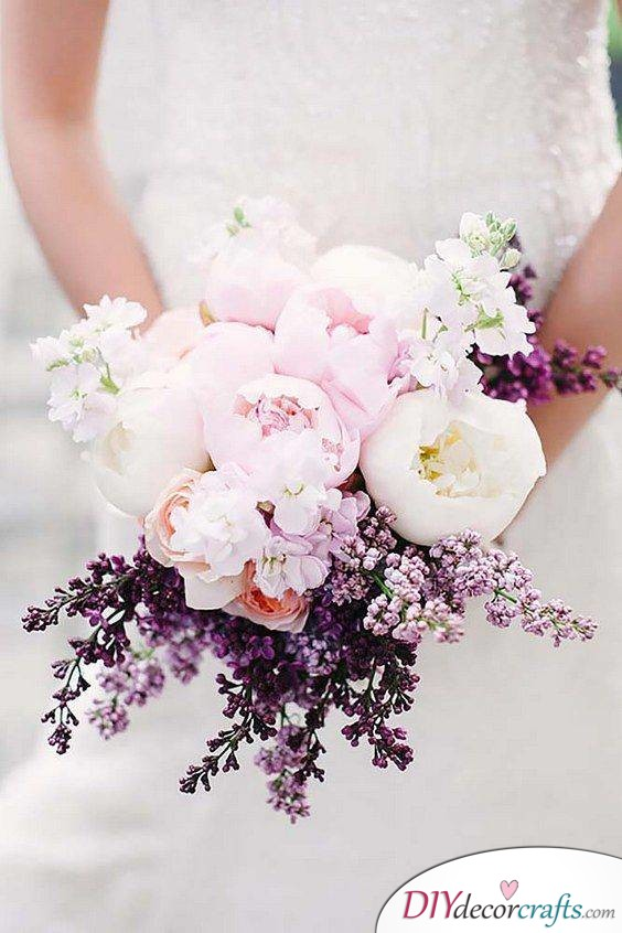 Pink and Purple - Best Bridal Bouquets