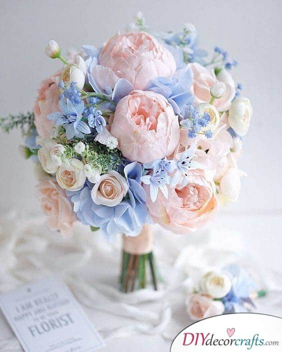 Beautiful Pastels - Relaxed and Chic Arrangement