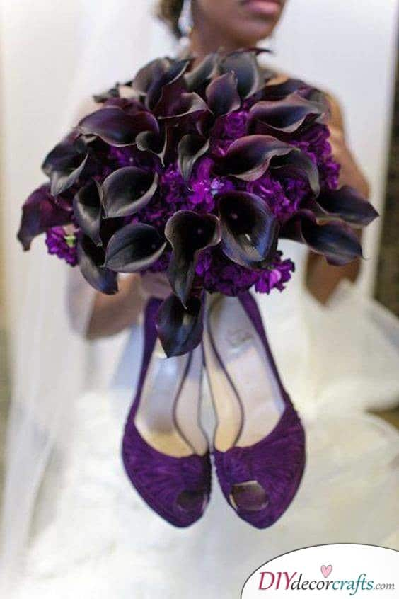 Gothic Wedding - Ideas for Your Bouquet