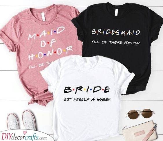 Inspired by Friends - T-Shirt Ideas