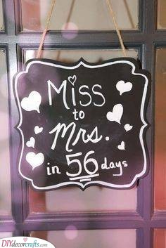 A Sign of Love - Hen Party Decorations