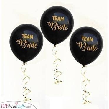 Bubbly Balloons - Hen Party Ideas