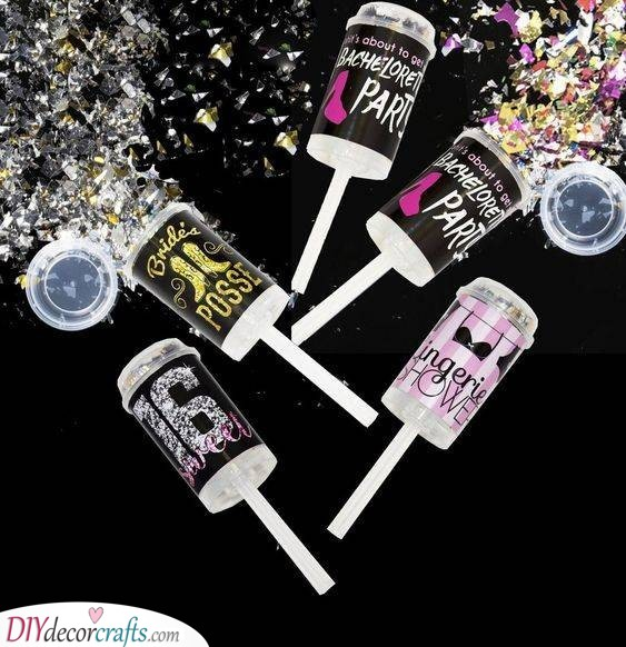 Confetti Poppers - Make the Night Unforgettable