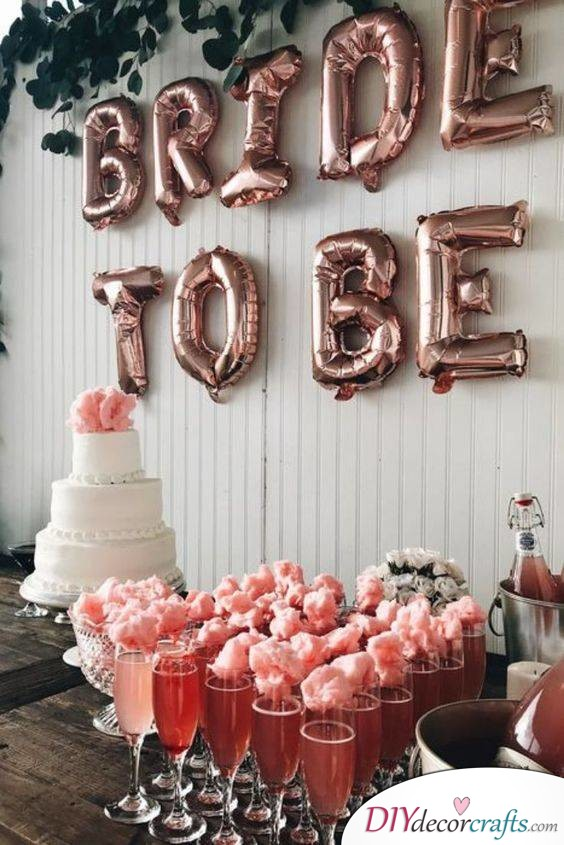Keeping it Modern and Stylish - Hen Party Decorations