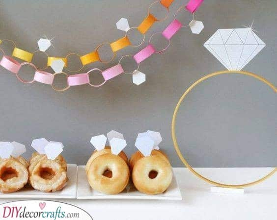 Sweet Rings - Snacks for Your Party