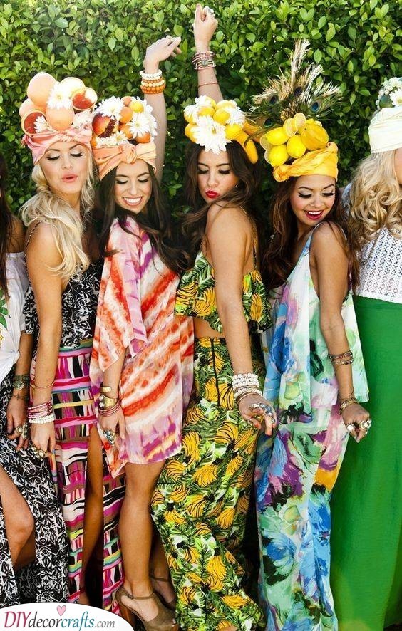 Tropical Theme - An Exotic Party