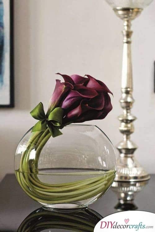 Black Calla Lilies - A Modern Twist