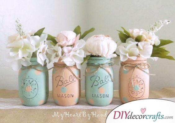 Peach and Mint - Spring Colour Theme