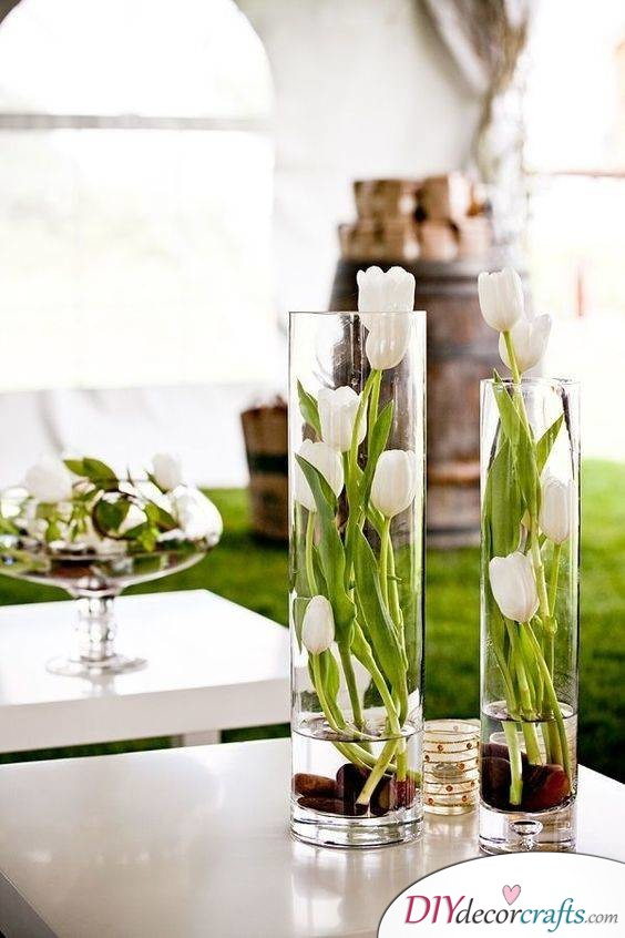 Tulips in a Modern Sense - Simple and Elegant Decor