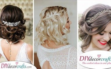 30 WEDDING HAIRSTYLES FOR MEDIUM LENGTH HAIR - Breathtaking Medium Length Wedding Hairstyles