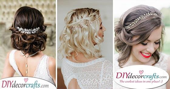 Wedding Hairstyles For Medium Length Hair 30 Wedding