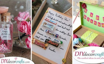 30 AWESOME HOMEMADE BIRTHDAY GIFTS - Tips to Making the Best DIY Birthday Gifts