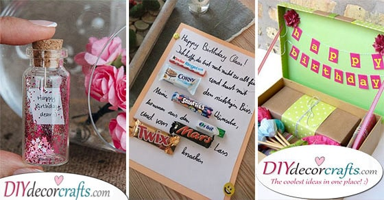 Homemade Birthday Gifts 30 Awesome Diy Birthday Gifts