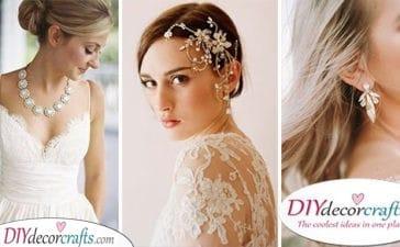 30 WEDDING BRIDAL JEWELLERY - Ideas for Bridal Jewellery