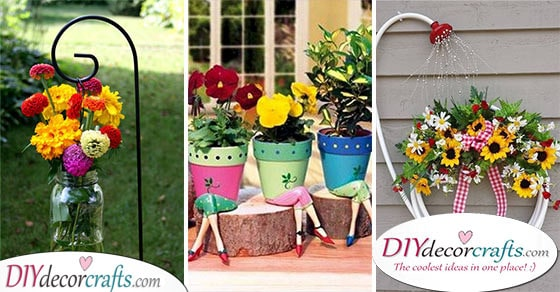 Garden Decorations For Spring 20 Spring Outdoor Decorations