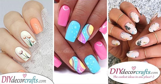 30 AMAZING SPRING NAIL DESIGNS - A Collection of Spring Nail Ideas