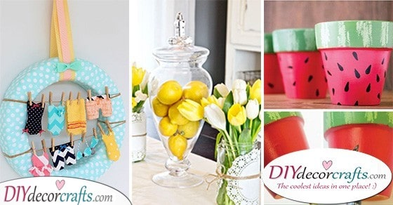 25 SUMMER DECORATIONS FOR YOUR HOME - Great Decor Ideas for Summer
